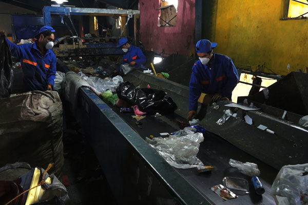 پاورپوینت بازیافت انواع زباله های لاستیکی